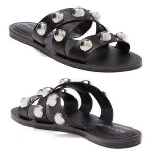 NWT Marc Fisher Studded slide sandals